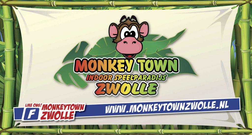 Monkey Town Zwolle www.monkeytownzwolle.nl