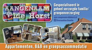 B&B appartementen groepsaccommodatie Aangenaam - Olde Horst Diever