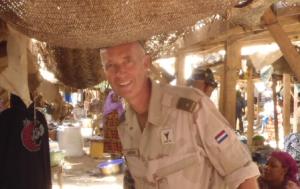 Presentator Martin Wemes HaringParty Westerveld 2018